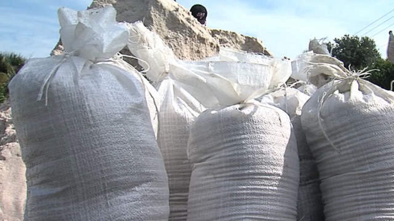 Hurricane Matthew: Sandbag locations
