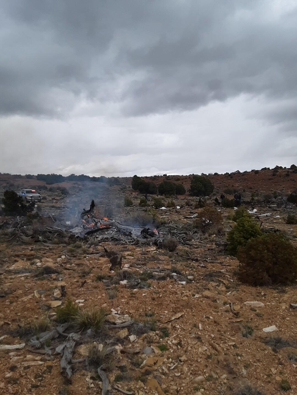 Photos: Two dead in plane crash near Capitol Reef,Escalante