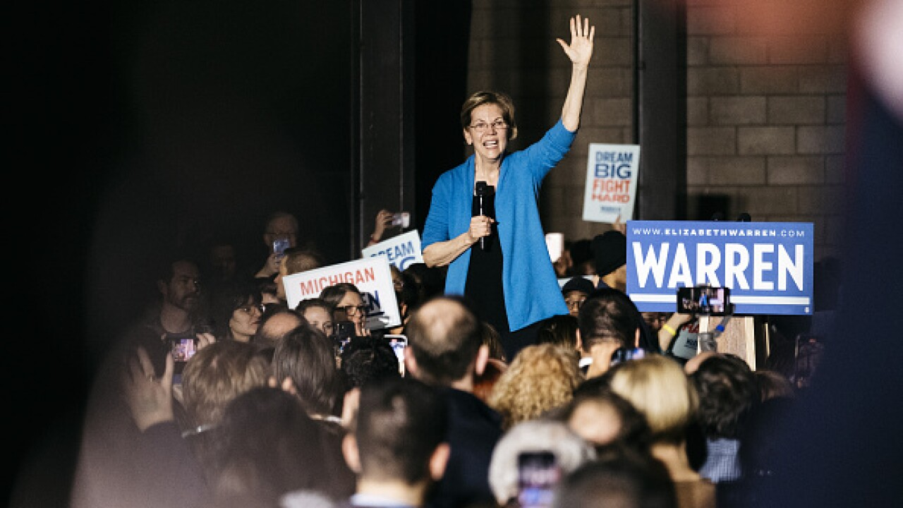 Warren's future uncertain after loss in home state of Mass.