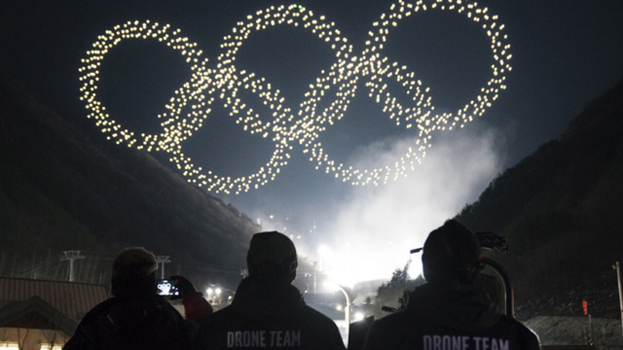 Intel drone light show breaks Guinness World Records title at Opening Ceremonies