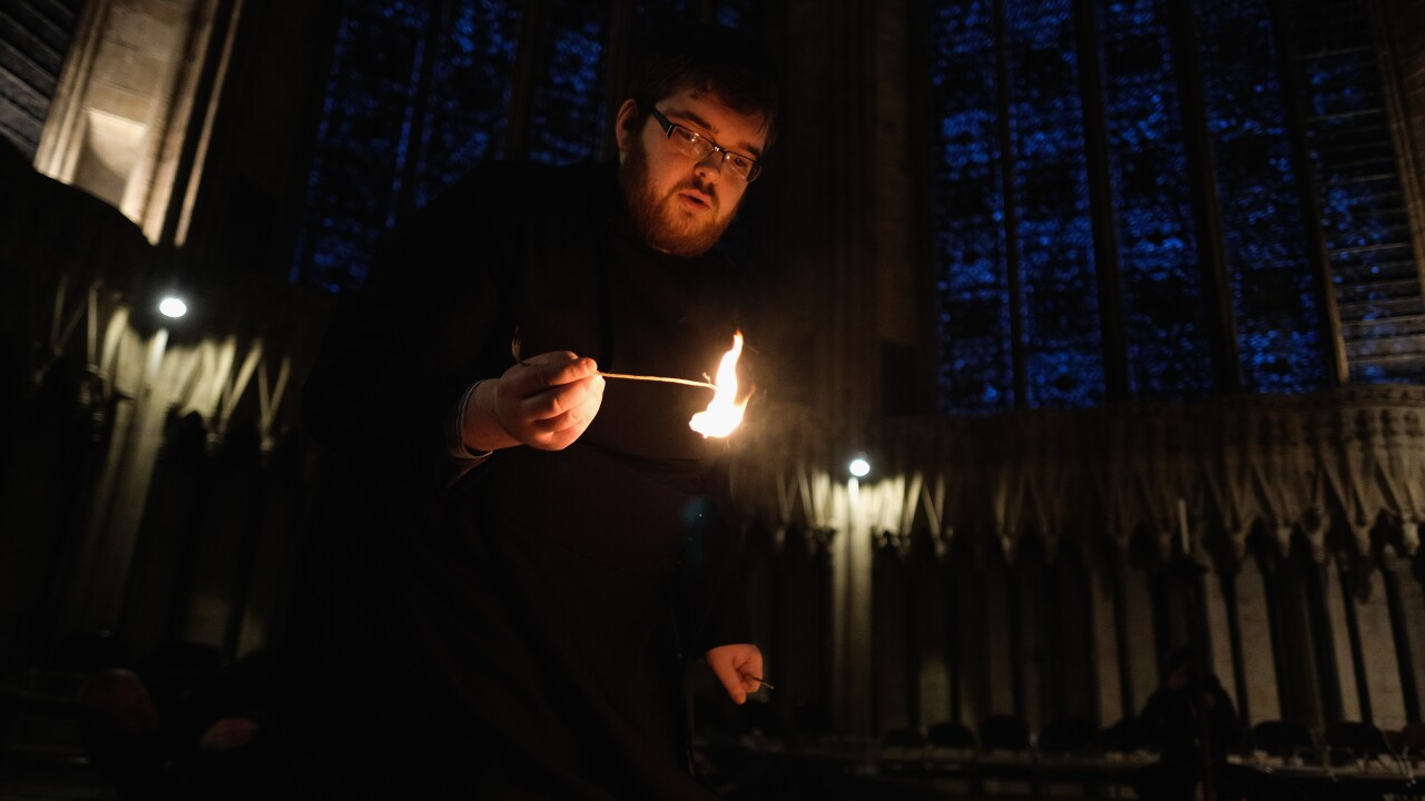 York Minster Sees Lighting of 600 Candles For Holocaust Memorial Day