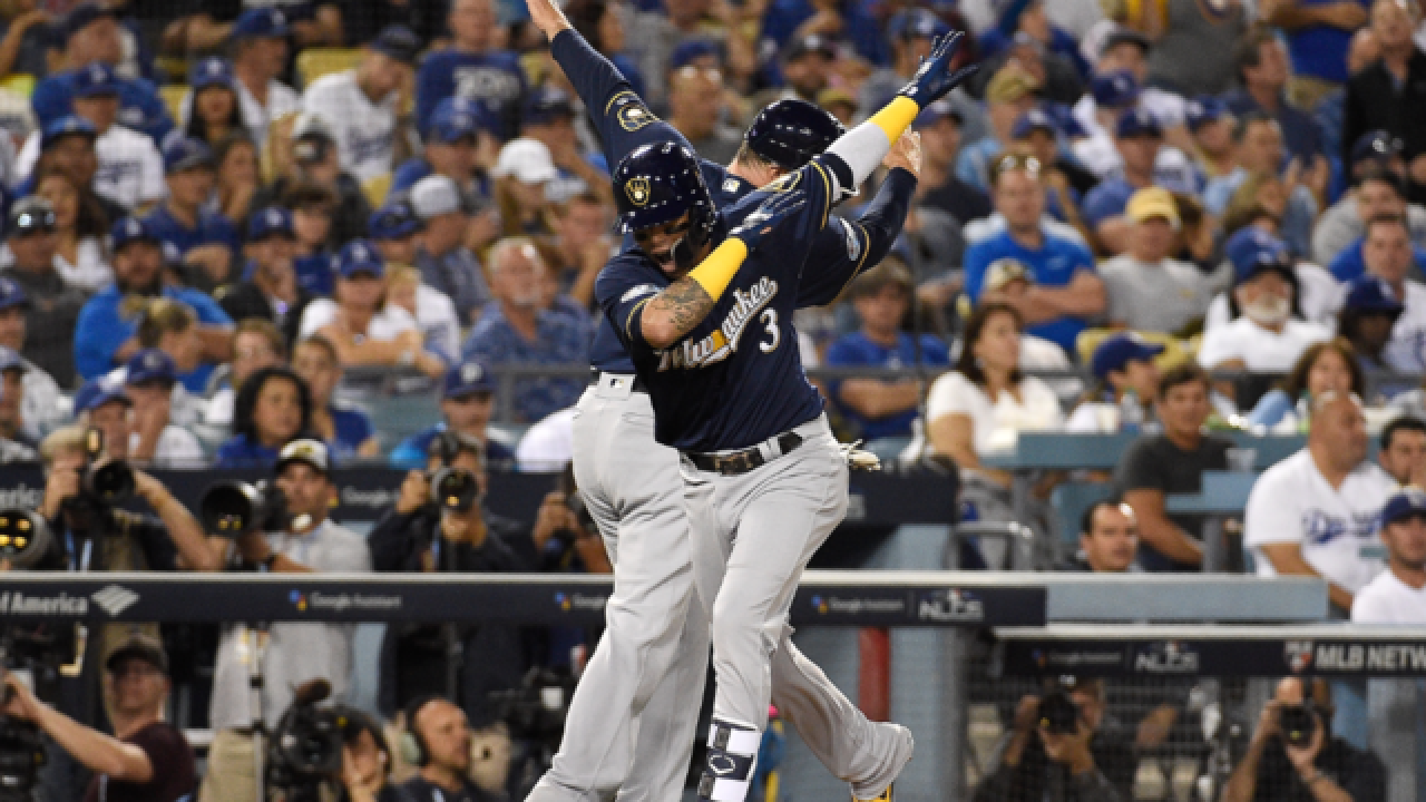 Brewers win Game 3 of NLCS and take a 2-1 series lead