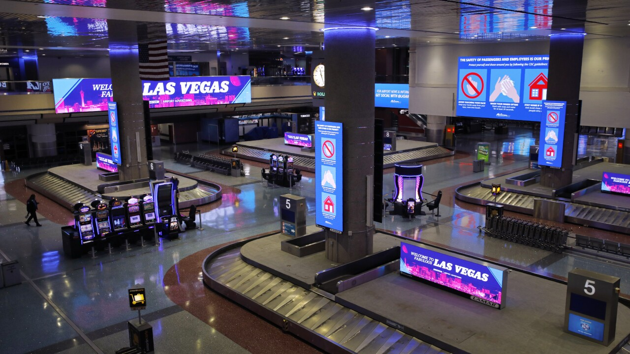 Virus Outbreak Withering Vegas