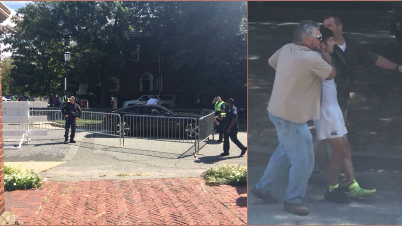 Video shows police chasing Camaro on Monument Avenue UCI bike race course