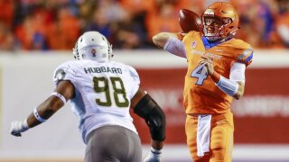 Rypien leads Boise State in romp over Colorado State 56-28