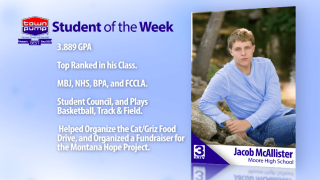 Student of the Week: Jacob McAllister