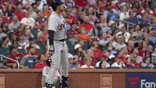 Tigers Cardinals Baseball MigueL Cabrera