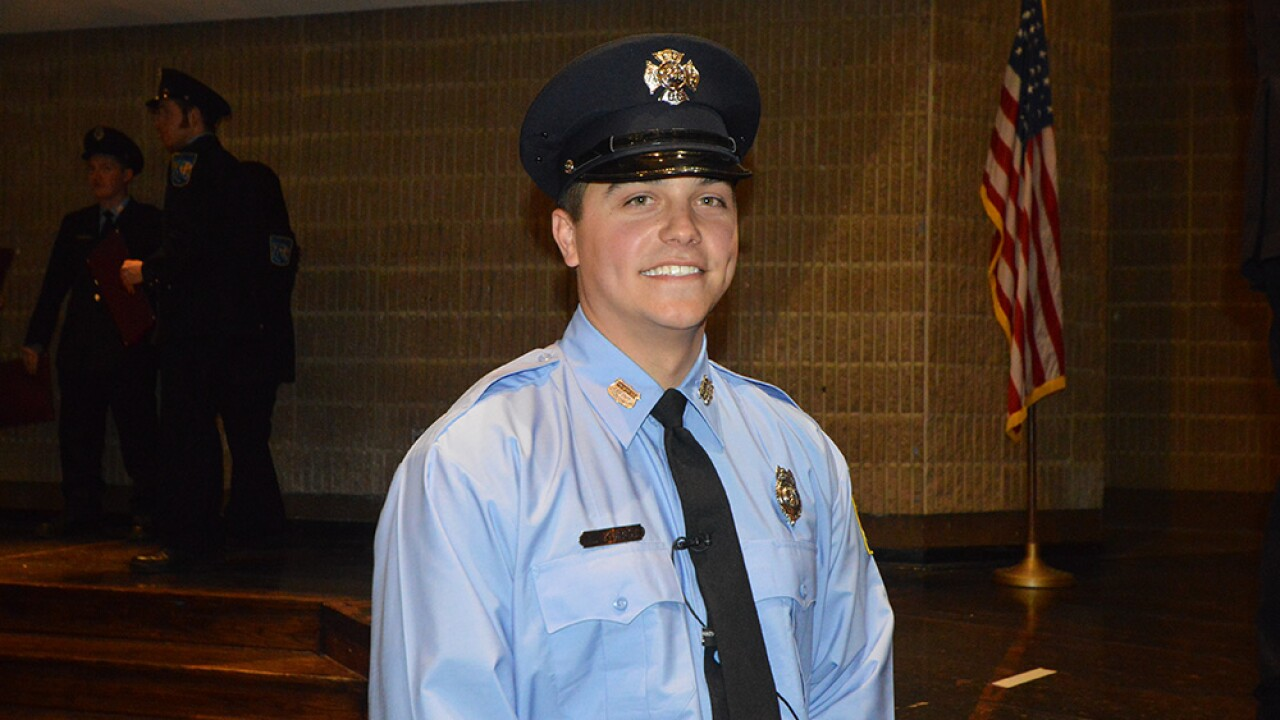 Volunteer firefighter who responded to Amy Caprio becomes Baltimore County Firefighter