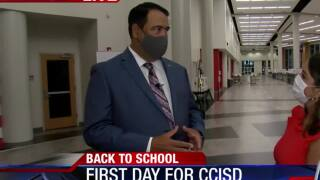 Dr. Roland Hernandez, CCISD Superintendent talks returning to school