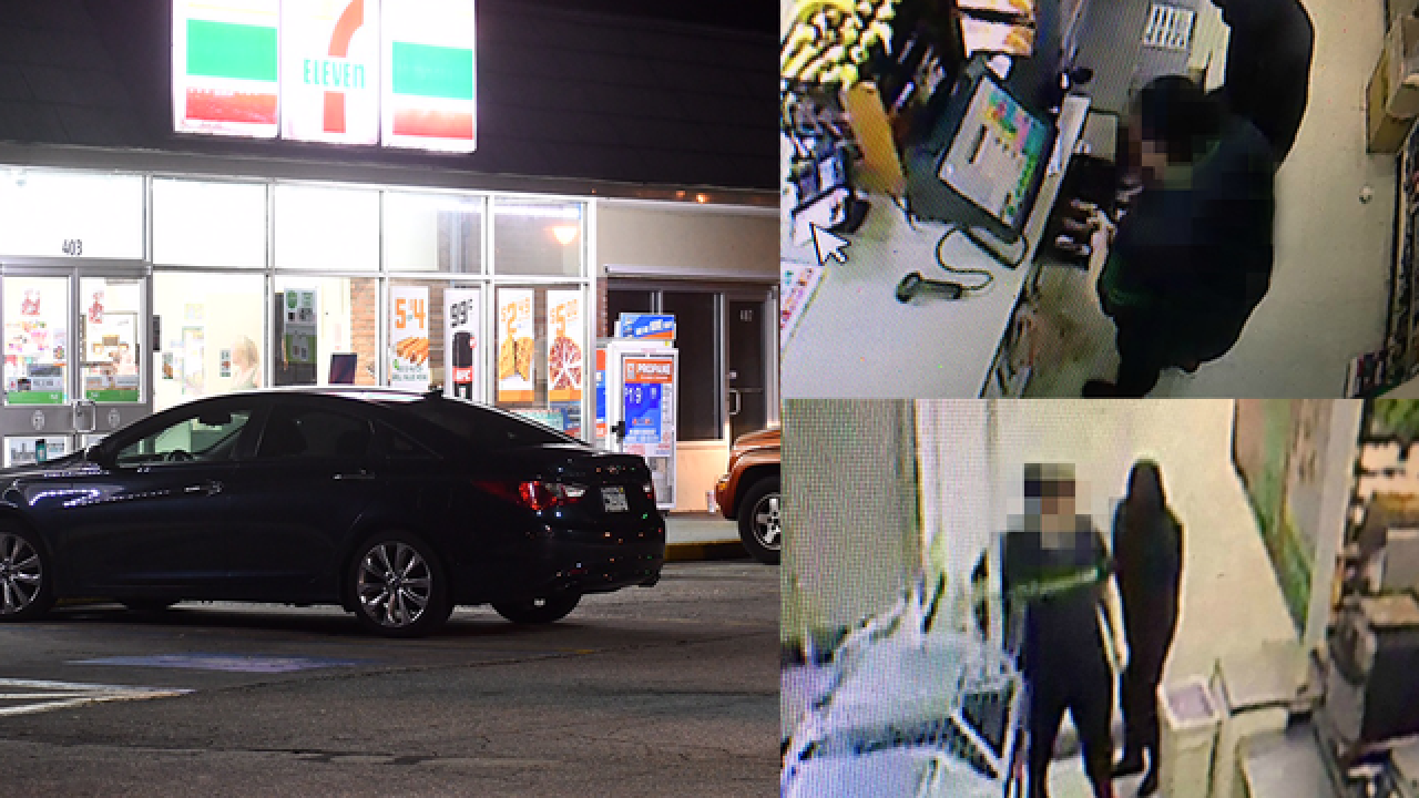 2 armed robberies at 7-Elevens in Largo