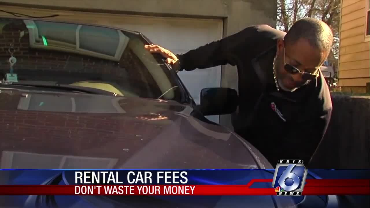 Unexpected rental car fees