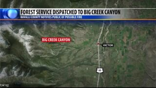 Crews tackle small Ravalli County wildfire