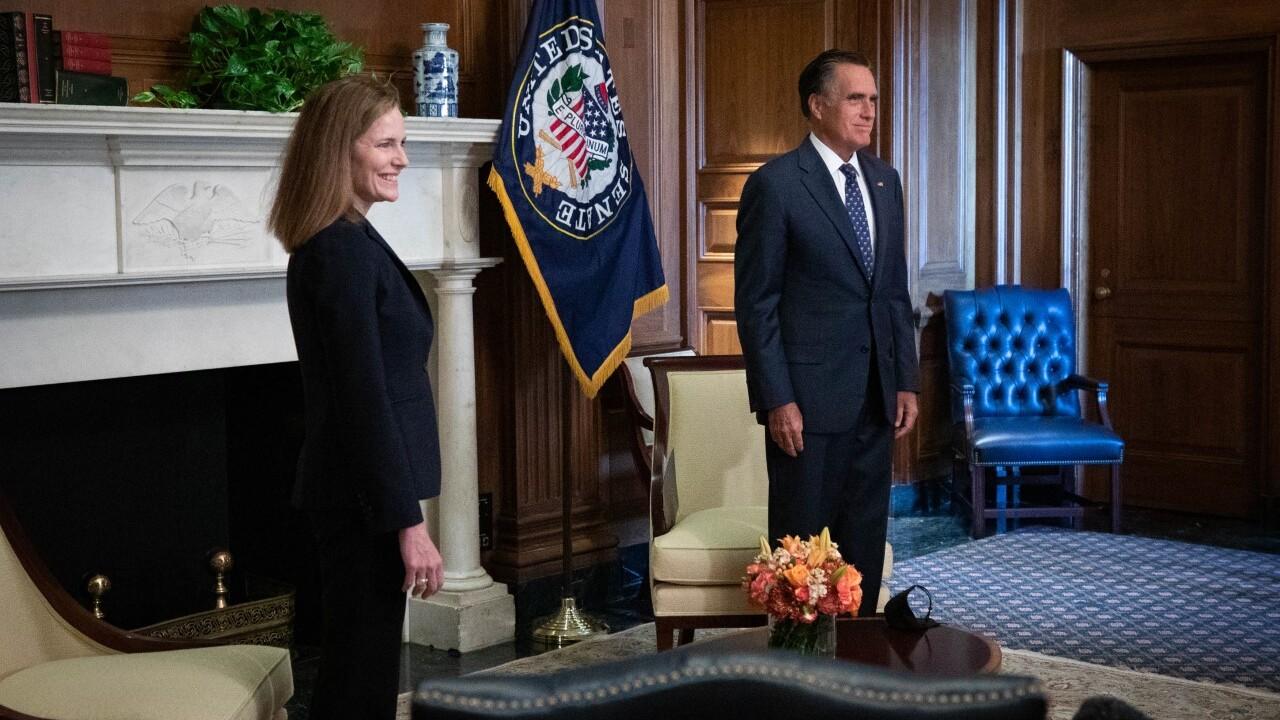 Sen. Romney and Judge Barrett