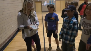 Hyalite Elementary students surprise teacher with special gift
