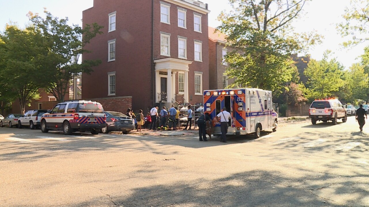 Richmond elementary school evacuated after reported gasleak