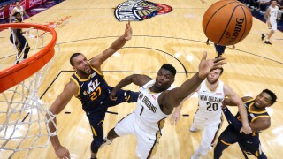 Utah Jazz v New Orleans Pelicans Zion Williamson