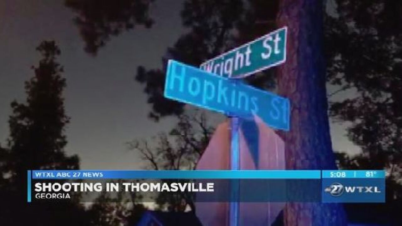 Few details have been released in shooting on Wright Street in