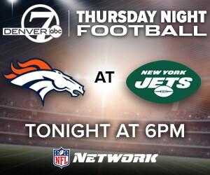Watch The Broncos Vs Jets On Thursday Night Football On Denver7