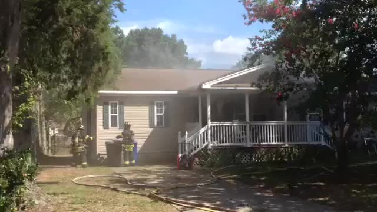 Newport News home condemned after fire