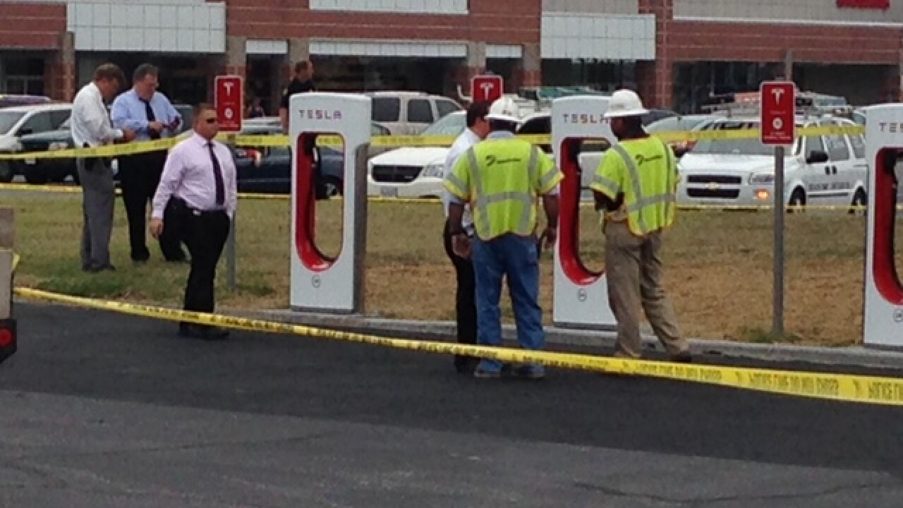 Suspected electrocution death under investigation in JANAF parking lot