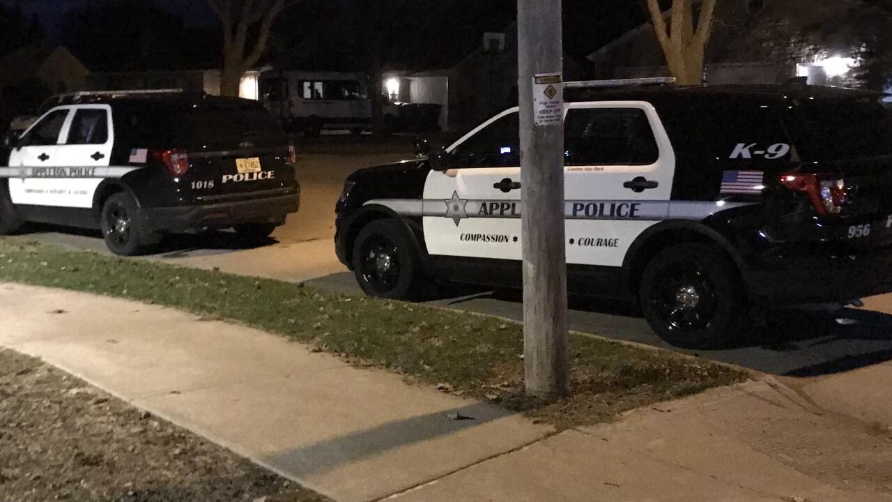 Heavy police presence in Appleton