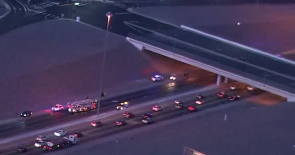 Girl dies after jumping from Stephanie overpass onto Interstate 215