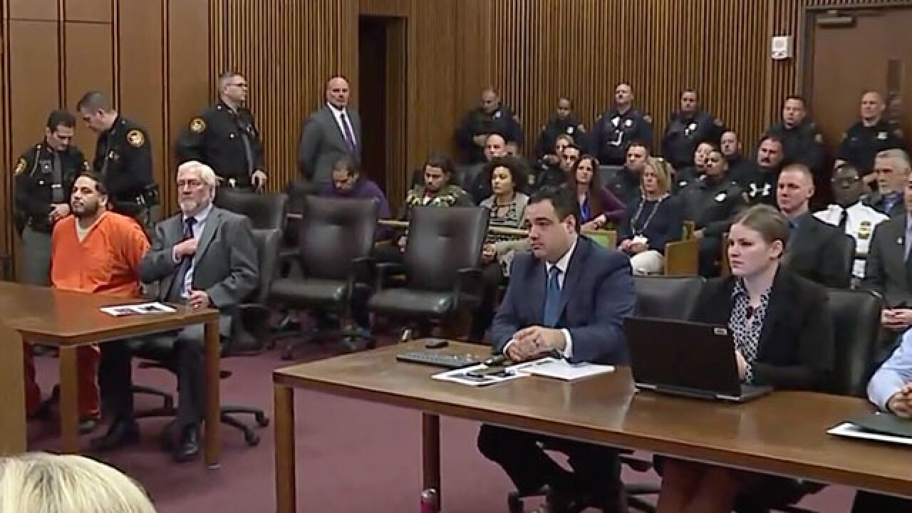 LIVE | Sentencing for driver who killed officer