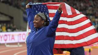 Podcast: Michelle Carter, Monica McNutt talk about extra pressure athletes of color face