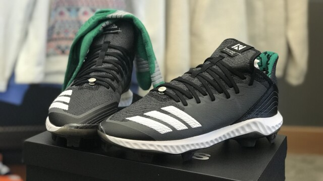 Adidas baseball cleats from Franklin Wisconsin apparel company Routine  Baseball.