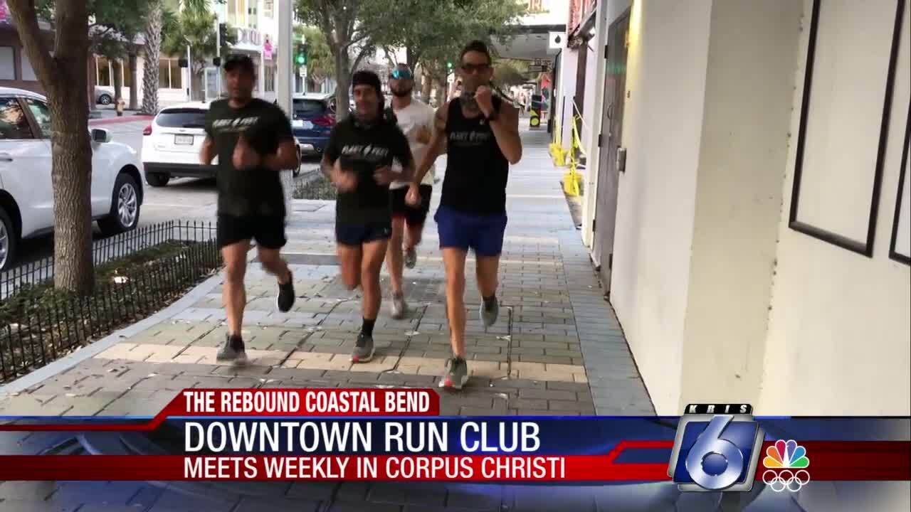 The Downtown Corpus Christi Run Club meets weekly