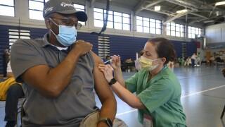 Mass Vaccination at Joint Base Langley-Eustis