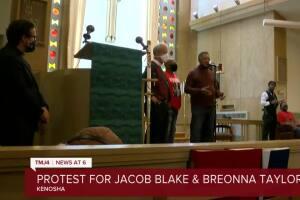 Rev. Jesse Jackson, Jacob Blake family hold march for Breonna Taylor in Kenosha