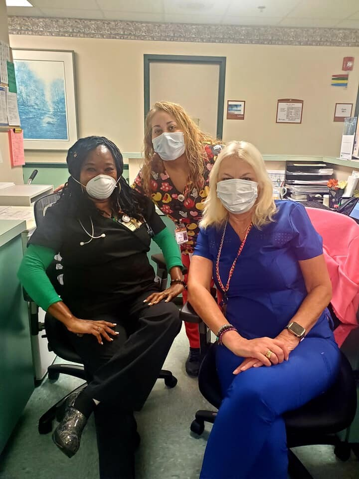 Randi Dixon and coworkers-nurses.jpg