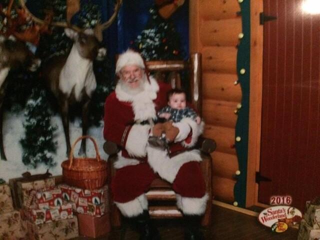 Christmas 2016: Your photos with Santa