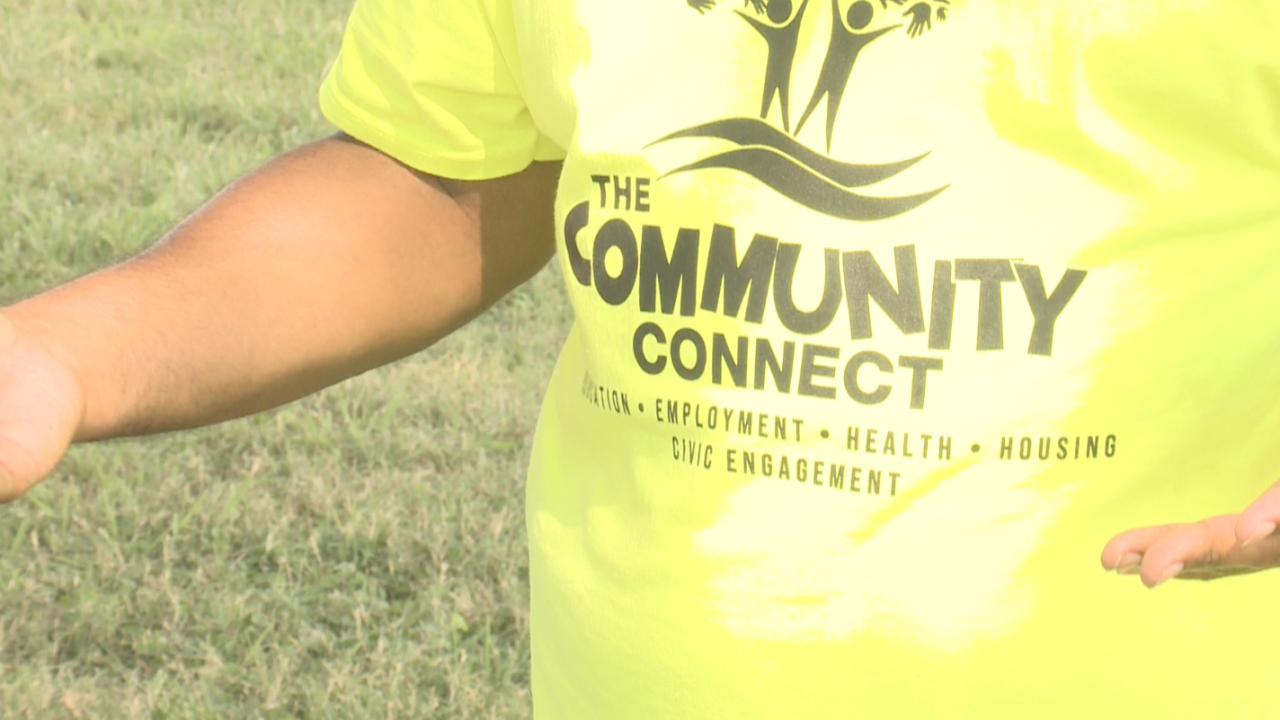 Councilwoman Mamie Johnson discusses Norfolk's Community Connect day