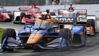 Felix Rosenqvist IndyCar Detroit Auto Racing