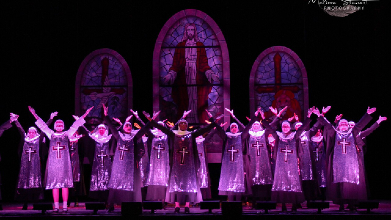 """Sister Act"" brings down the house!"