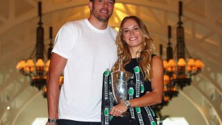 Love game: Tennis star Caroline Wozniacki engaged to basketball player David Lee
