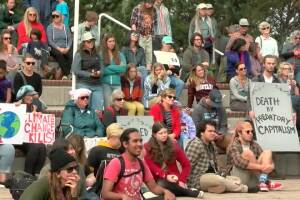 Young Missoula activists protests lack of action against climate change