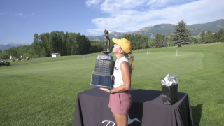 Annika Danenhauer powers past Rosanova to win Montana Women's State Am