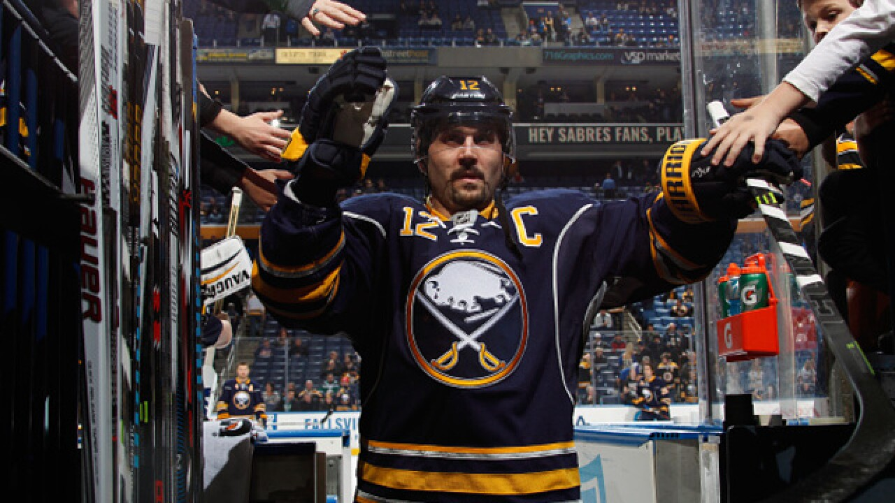 Gionta signs one-game contract with Amerks