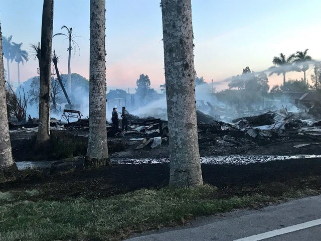 PHOTOS: 1920s building destroyed by fire in Pahokee