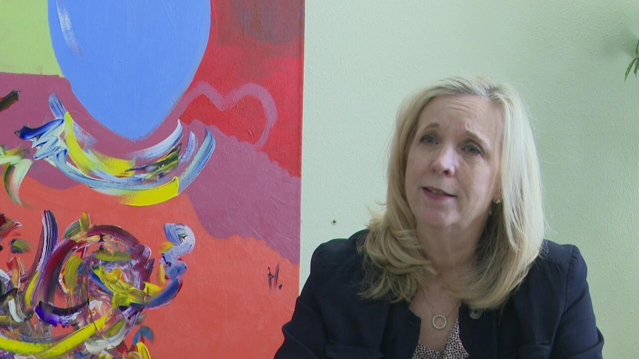 Sydney Blair, the Center for Mental Health CEO