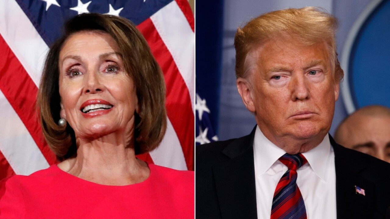 Trump denies Pelosi military aircraft for war zone trip