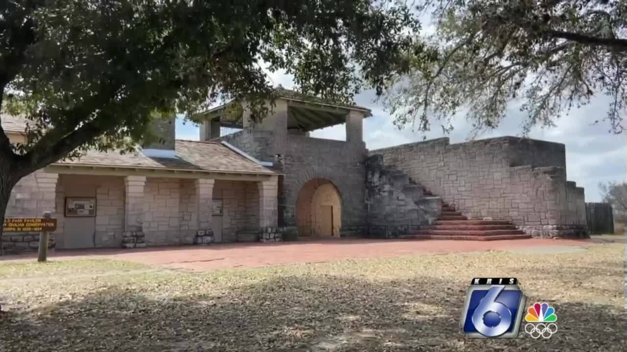 """""""The Castle"""" stand protectively at Lake Corpus Christi State Park"""