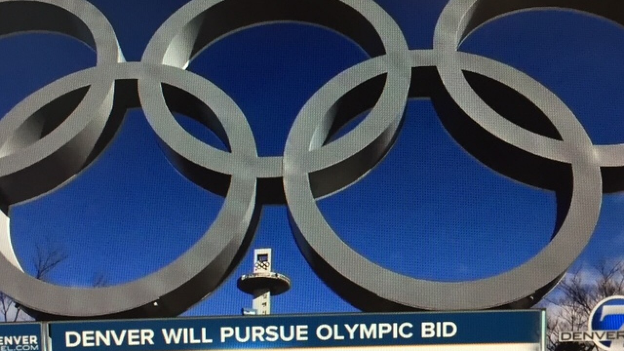 Committee recommends Winter Olympics bid