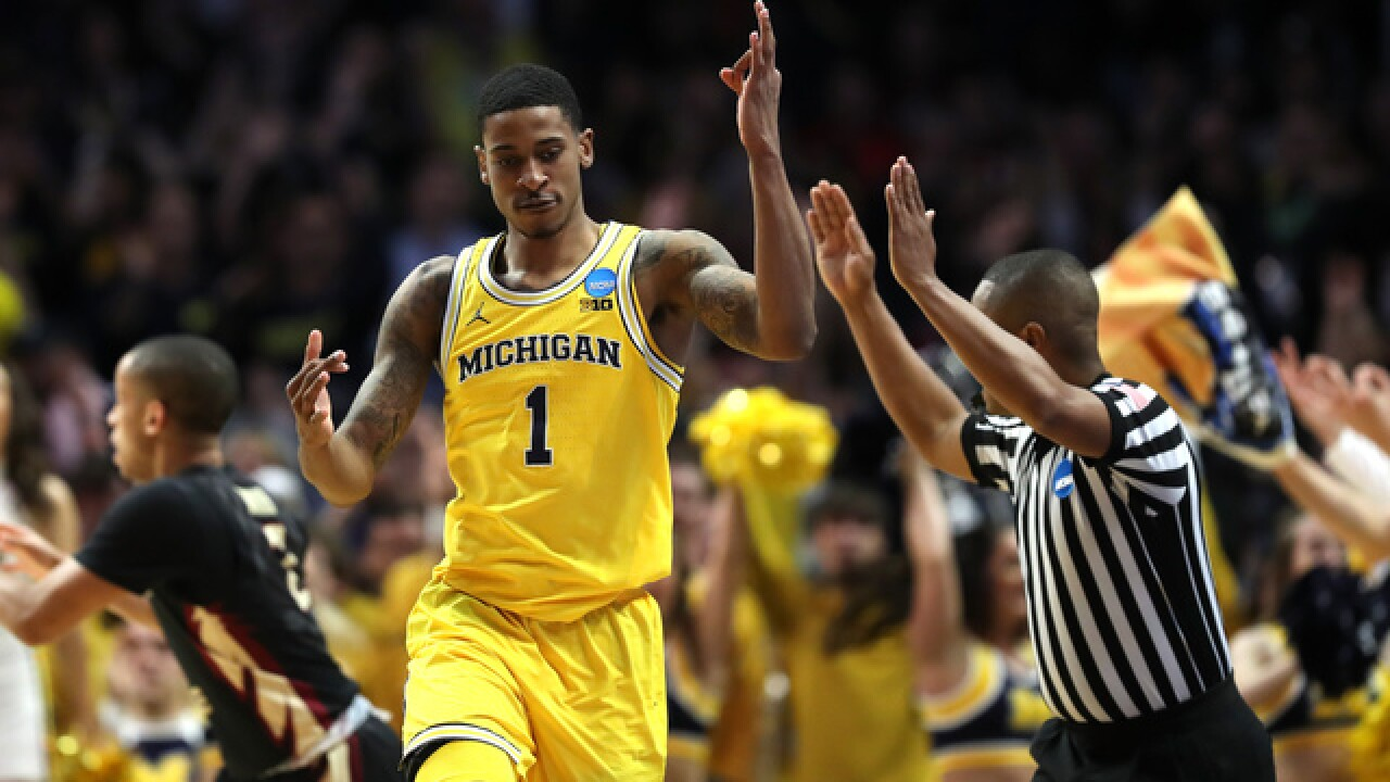 Charles Matthews removes name from NBA Draft, staying at Michigan