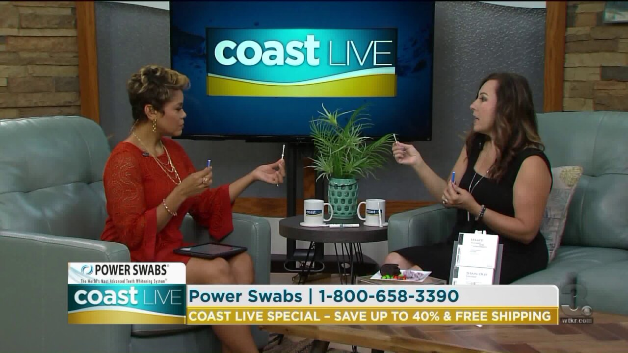 Looking younger and healthier with a whiter smile on Coast Live