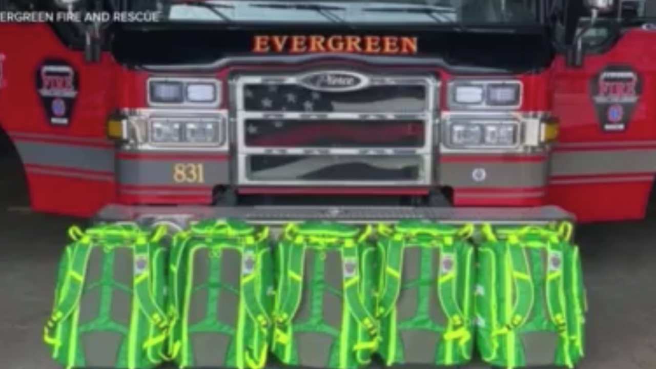 Evergreen Fire and Rescue Emergency Medical Service Jump Bags