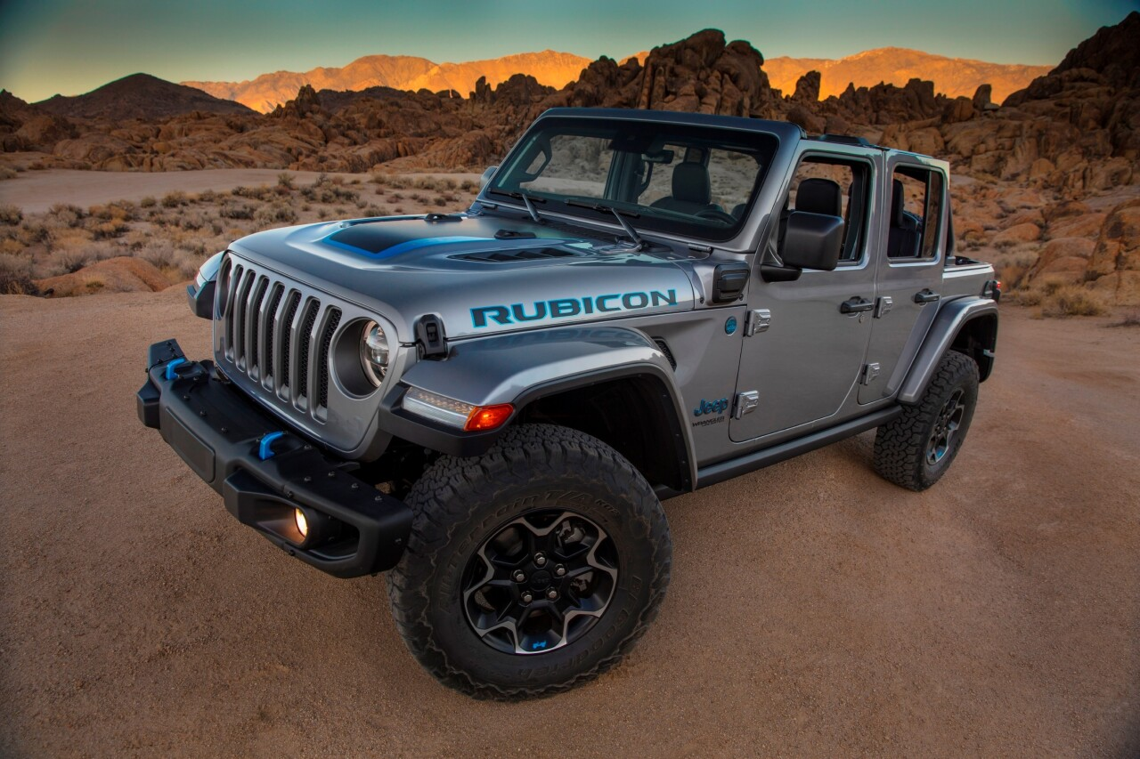 Rechargeable electric Jeep Wrangler